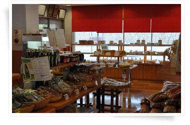 特産品・手作りパン販売コーナー