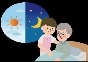 グループホームの介護職(夜勤専従) 長崎市茂里町 165920-2-AAA イメージ